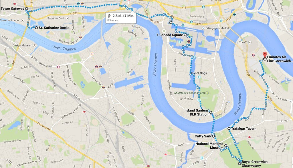 Route Docklands