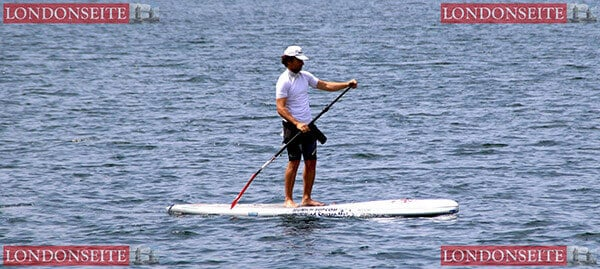 Stand-up-Paddling in London