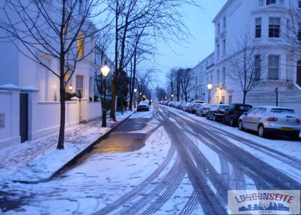 Winter in London - Schnee