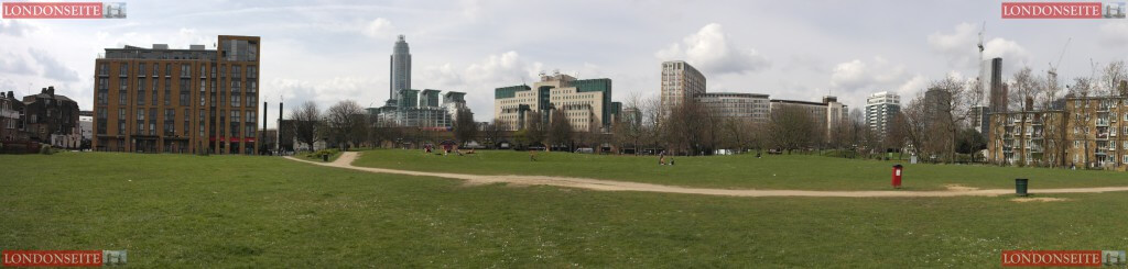 Vauxhall Pleasure Garden Panorama