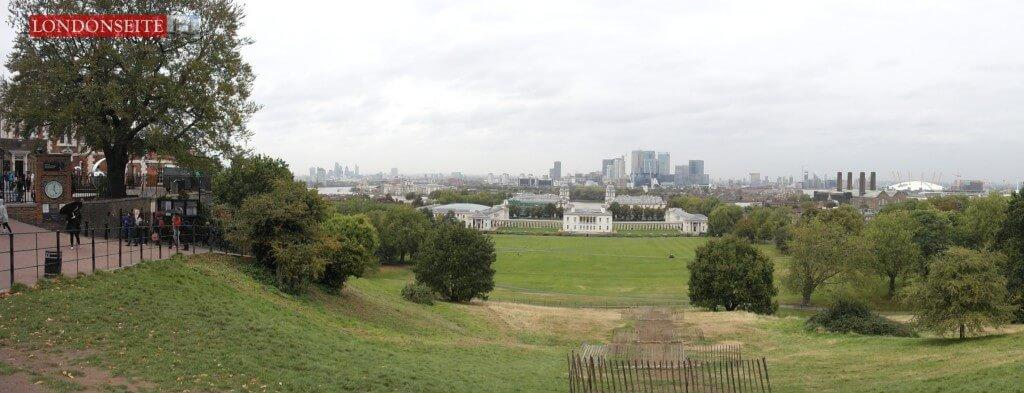 Aussicht Royal Observatory