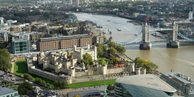 Aussicht Tower und Tower Bridge vom Skygarden