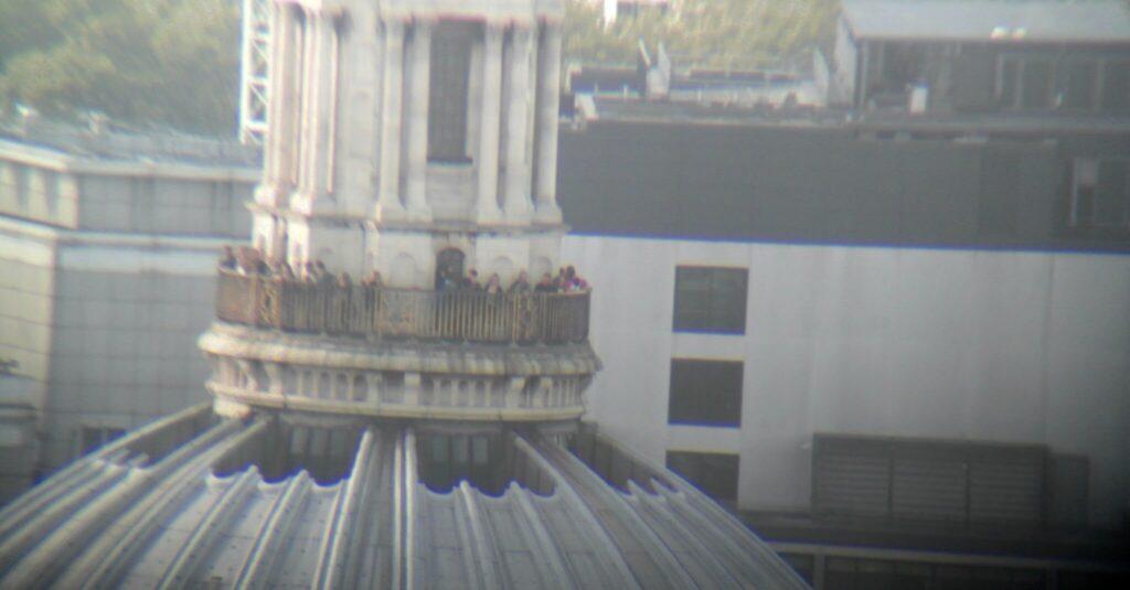 Aussicht Skygarden auf St. Pauls