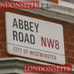 Abbey Road Straßenschild