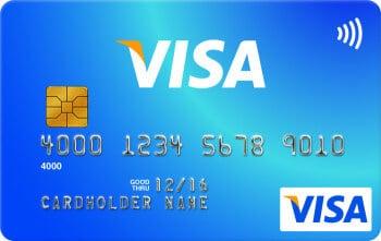 kontaktlos Kreditkarte