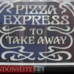 Pizza Express - glutenfrei in London