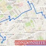 Spaziergang 5 - Soho Bloomsbury