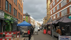 Exmouth Market - Fahrradtour 2 - Londoner Märkte