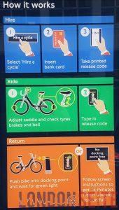 London Fahrrad mieten Anleitung
