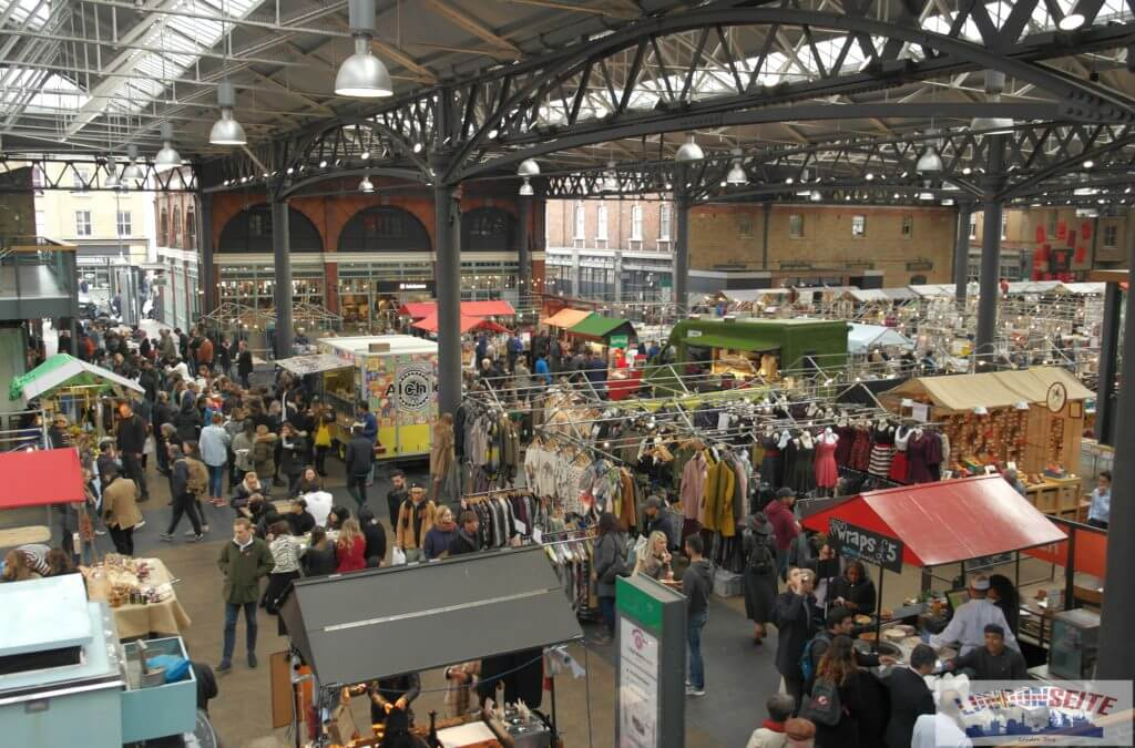 Old Spitalfields Market - Fahrradtour 2 - Londoner Märkte