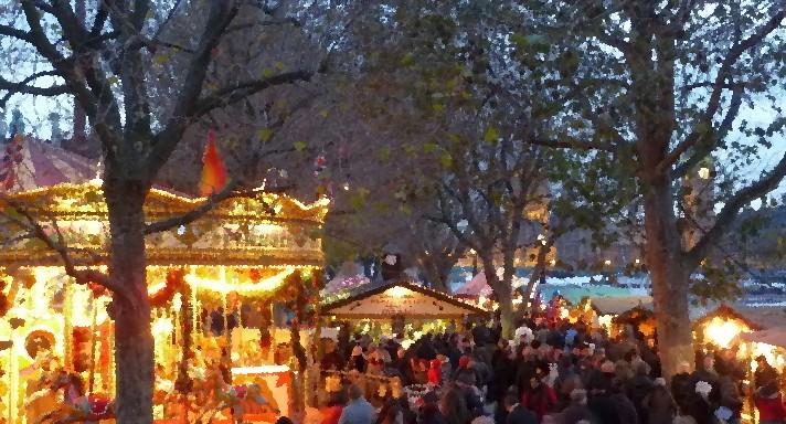 Weihnachtsmärkte in London