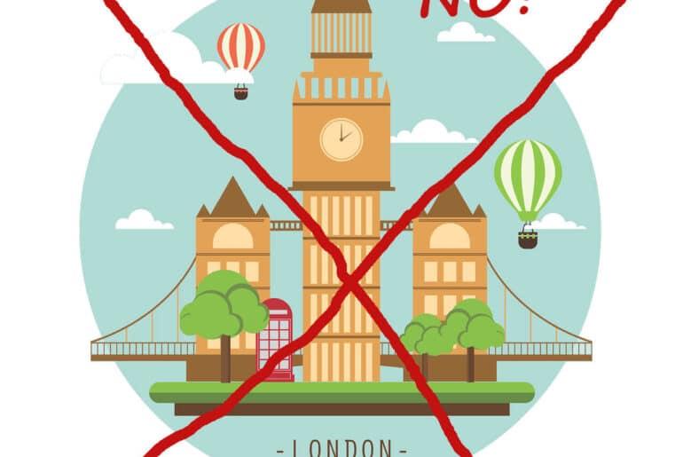 London nicht mögen
