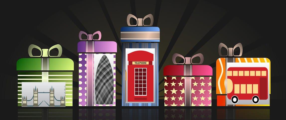 Geschenkideen für Londonfans