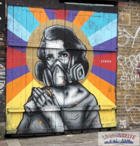 Street Art Shoreditch und Brick Lane