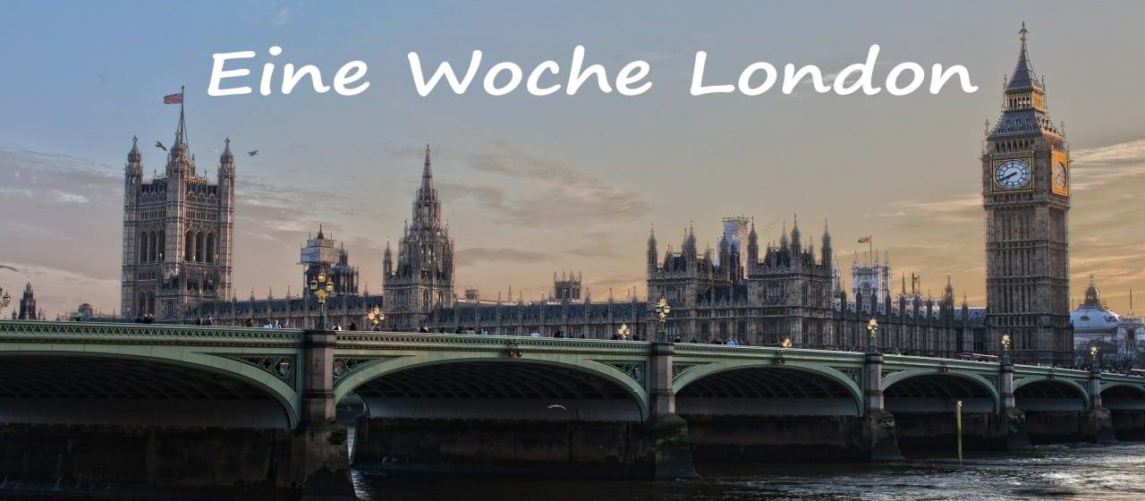 eine woche London