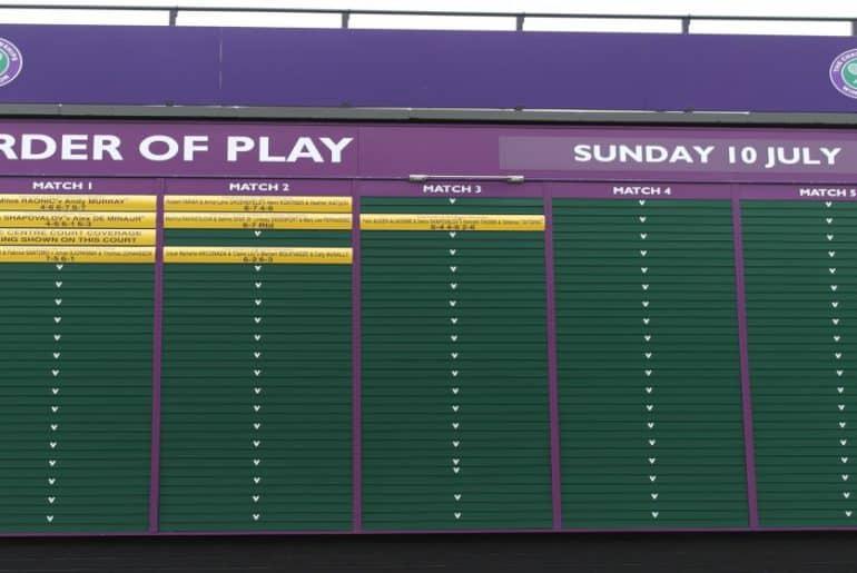 Wimbledon Spaziergang