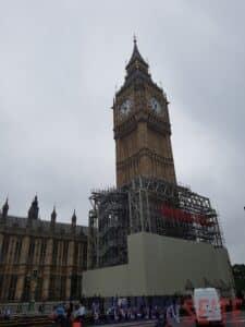 Big Ben Baustelle