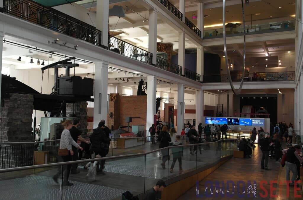 Science Museum Eingansbereich