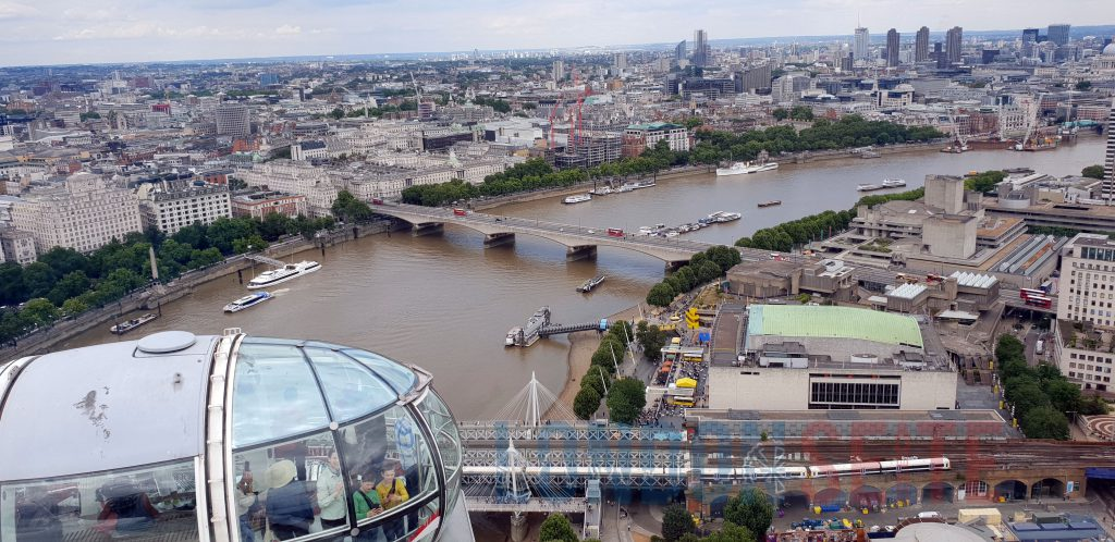London Eye Aussicht