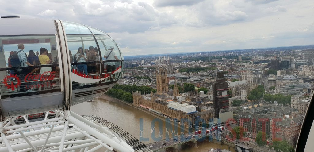 London Eye Aussicht