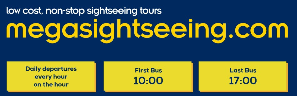 London Sightseeing Tour mit Megabus