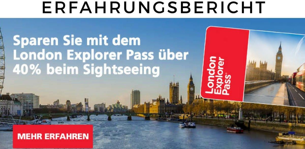 Erfahrungsbericht zum London Explorer Pass