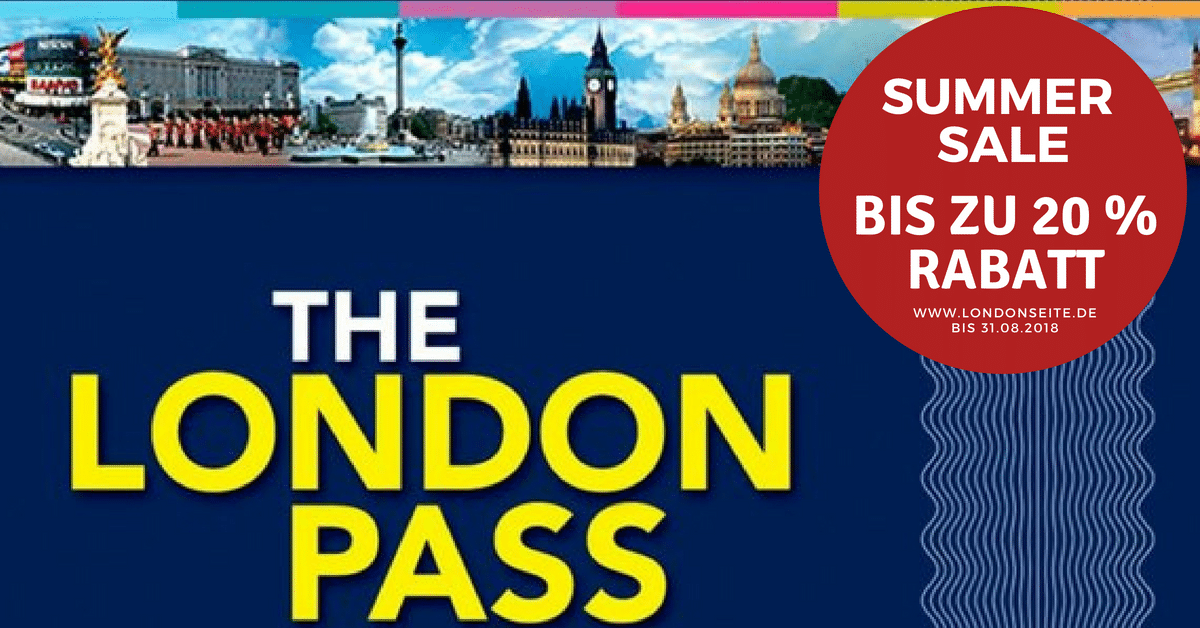 Exklusiver Sale beim London Pass