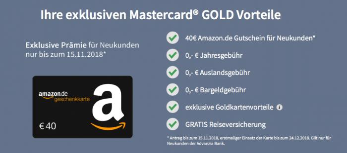 kostenlose Mastercard PayVip Gold
