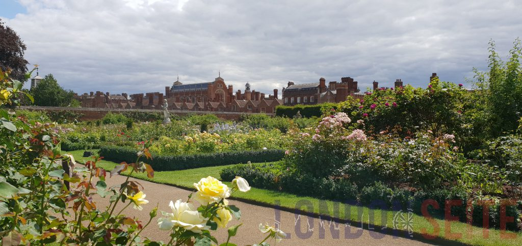 Hampton Court Palace Garten