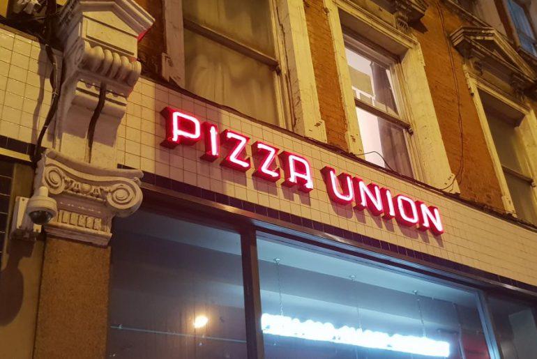 Pizza Union London Kings Cross