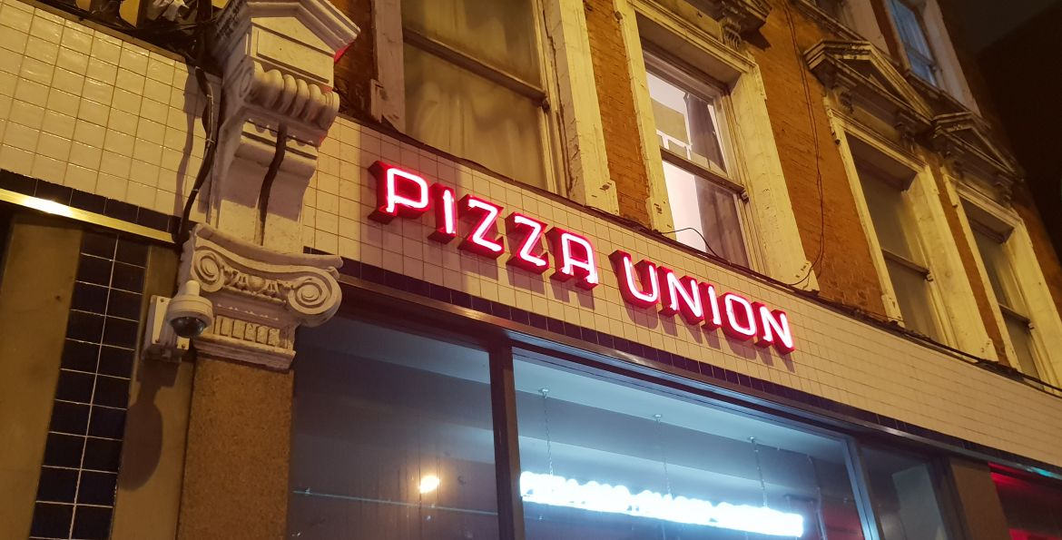 Pizza Union London Kings Cross