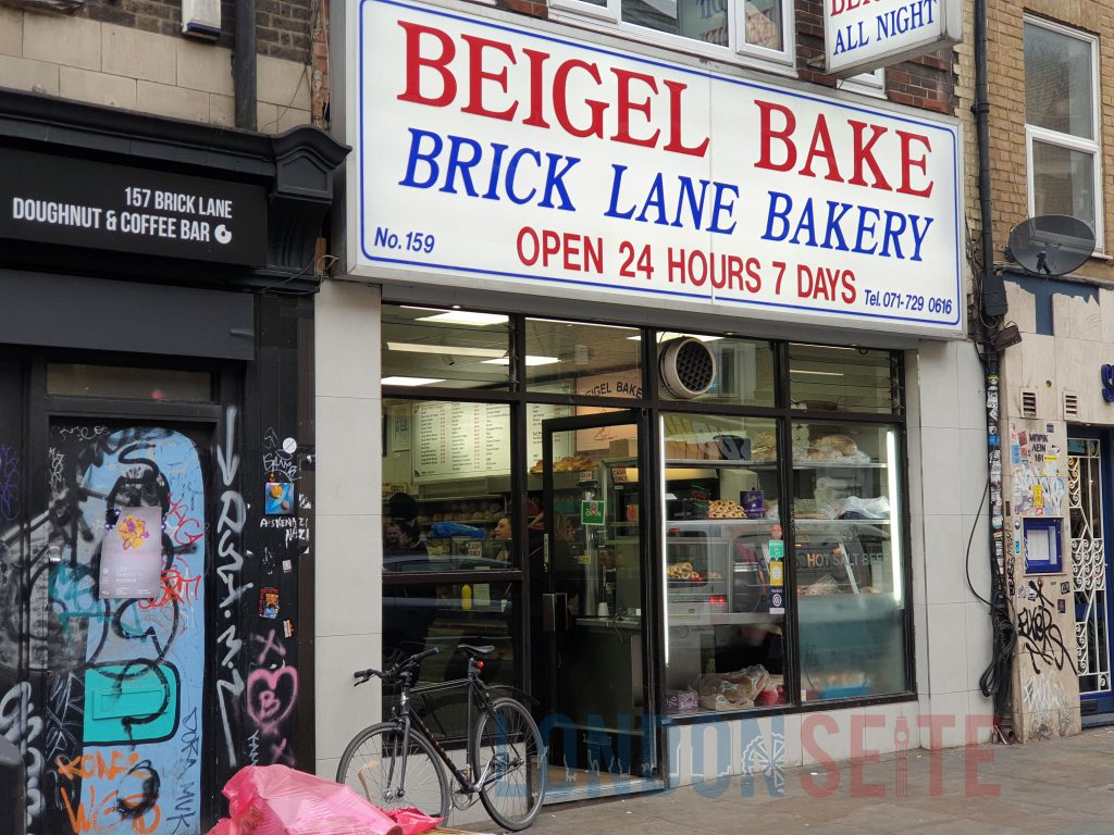 Brick Lane Beigel Beigel Bake