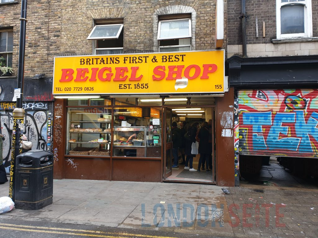 Brick Lane Beigel Beigel Shop