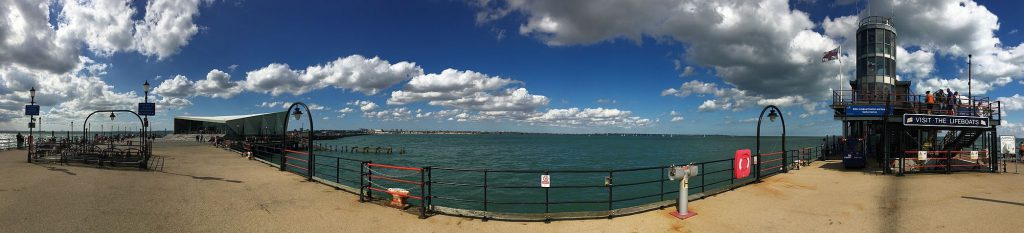 London Southend Pier Panorama