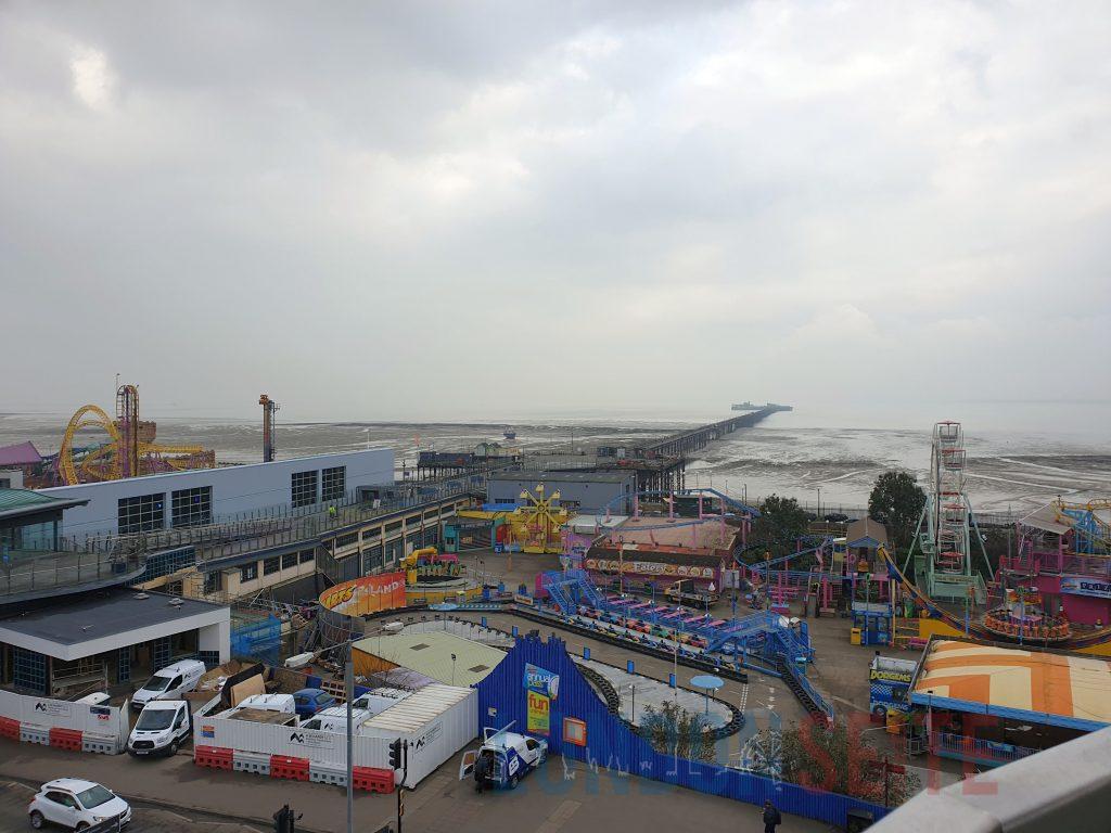 London Southend Pier und Vergnüngungspark