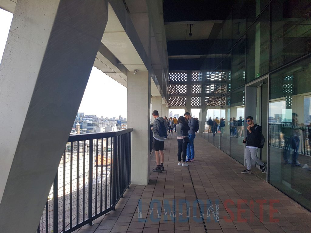 Tate Modern Aussichtsterasse
