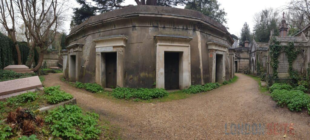 Highgate Cemetery Kulisse
