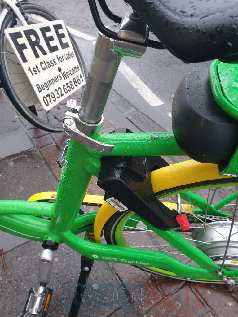 E-bikes in London