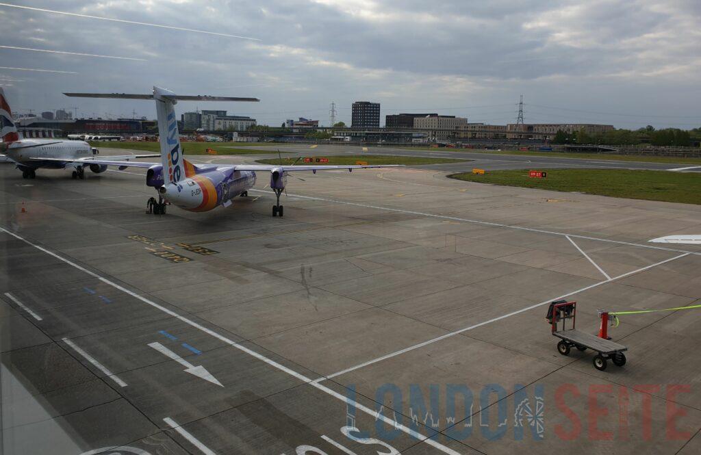 London City Airport Vorfeld