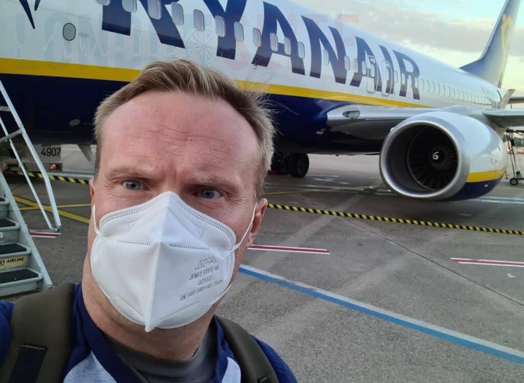 Ryanair Patrick Maske