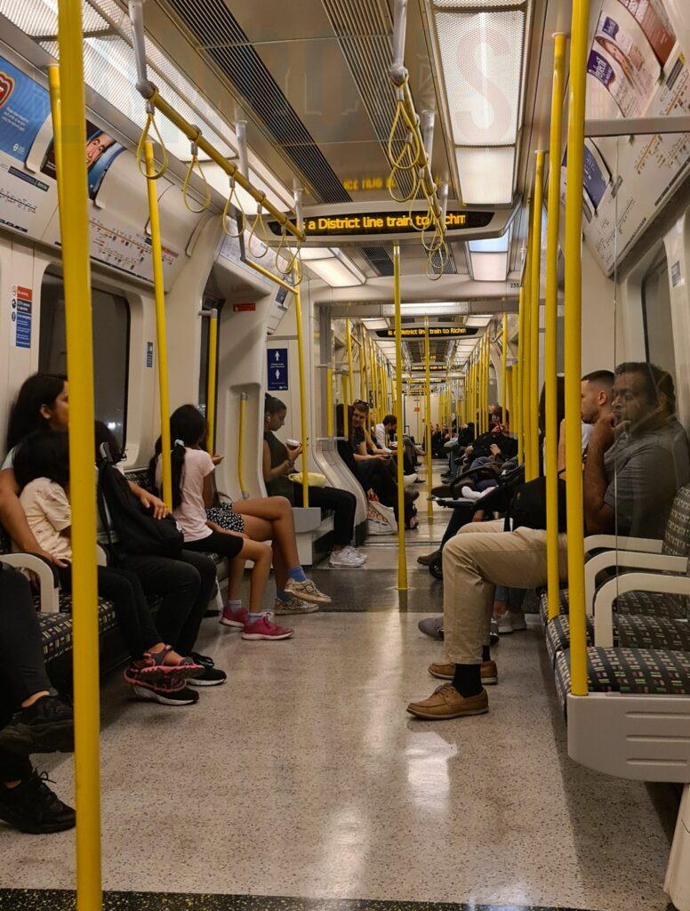 London Tube Covid